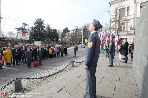Симферополь отметил годовщину манифеста Екатерины II о принятии Крыма в состав России