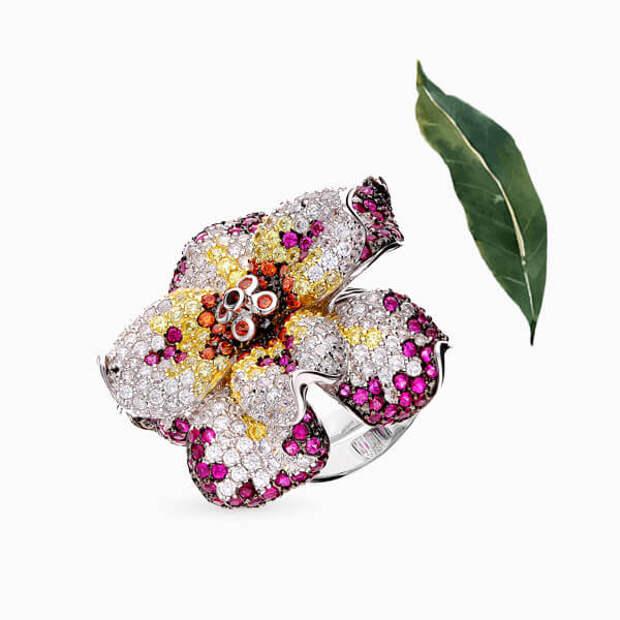 Провожаем лето украшениями с драгоценными цветами