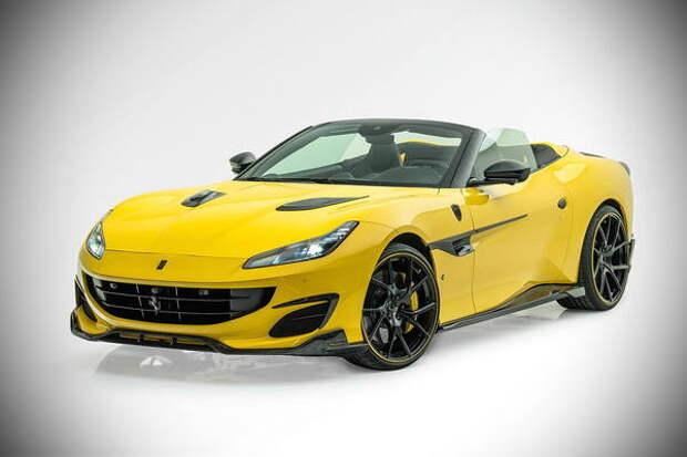 Mansory всесторонне улучшила кабриолет Ferrari Portofino