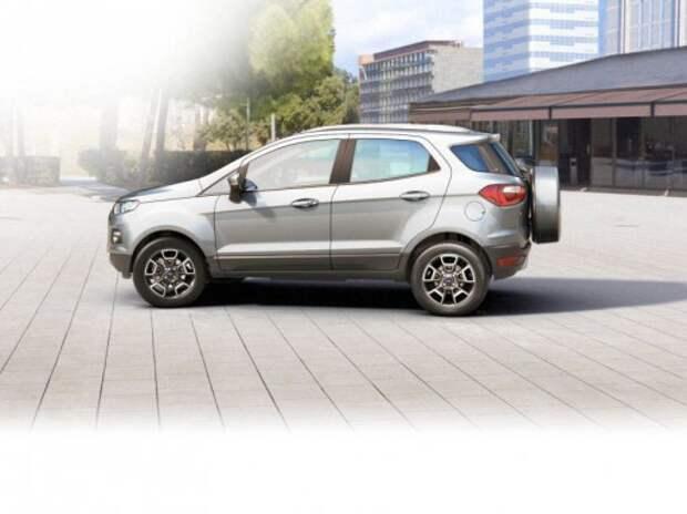 Дилеры начали продажи компактного Ford EcoSport