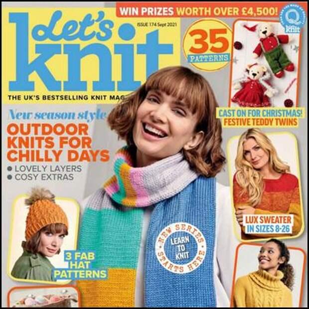 Let's Knit №174 сентябрь 2021