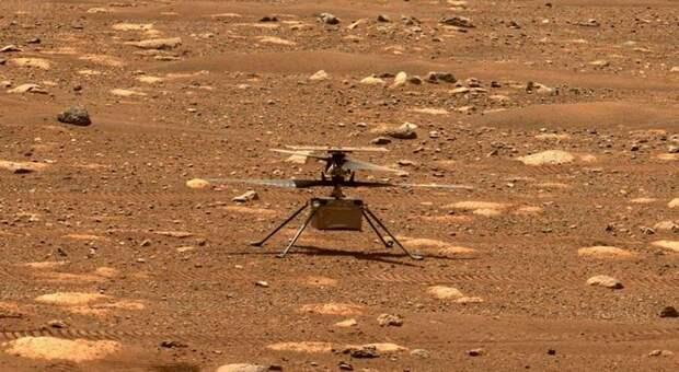 Марсианский вертолёт NASA поднялся на высоту 3 метра