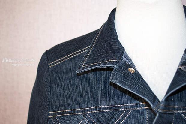 Детали джинсовки