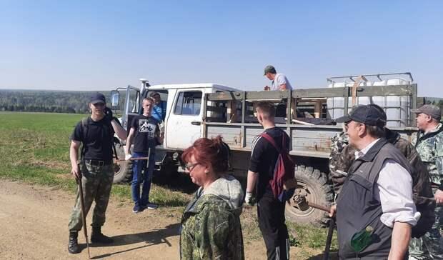 10 тысяч саженцев посажено наУрале впамять опогибших вВеликой Отечественной войне