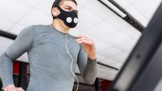 Российские учёные создали маску для занятий фитнесом