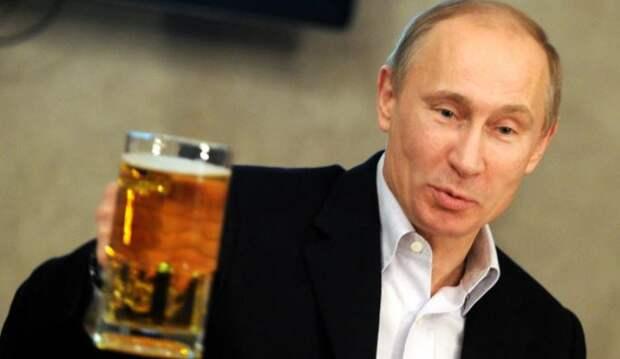 Путин объяснил, почему ему пришлось отказаться от пива