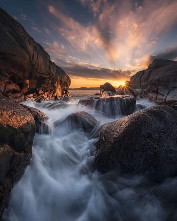 Суровая красота Норвегии на мощных снимках Ханса Гуннара Аслаксена