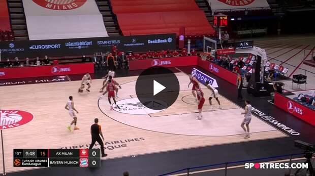 AX Armani Exchange Milan vs. FC Bayern Munich - Game Highlights
