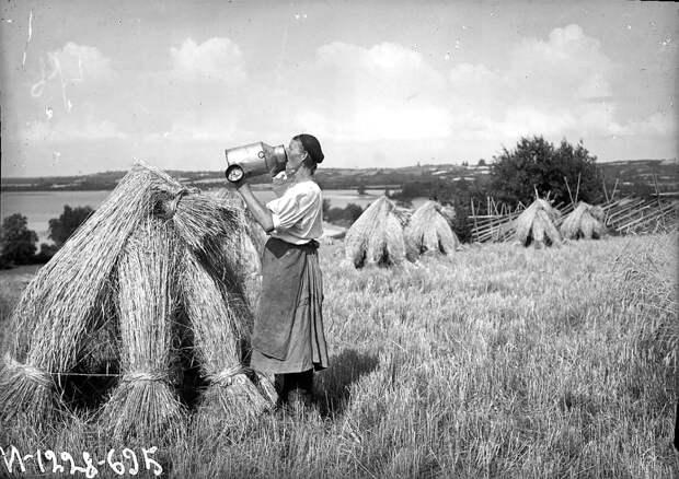 Крестьянка в поле