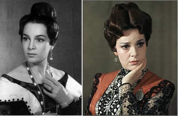 Как выглядела в детстве незабвенная Элина Быстрицкая и как преображалась ее красота на протяжении жизни, изображение №14