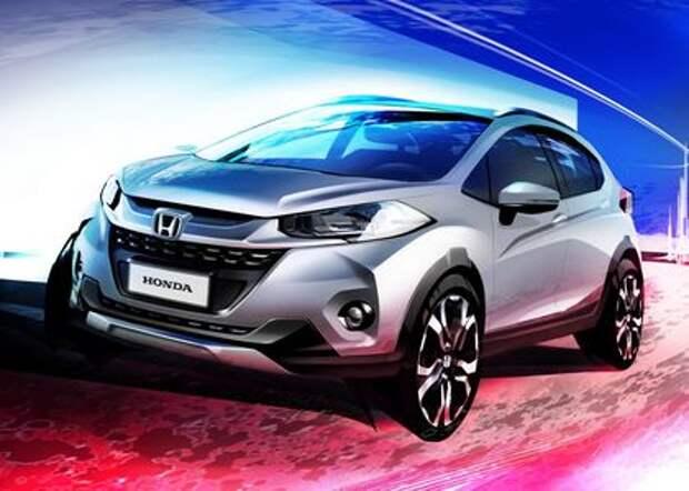 Бразильский смельчак: Honda показала новый кроссовер WR-V