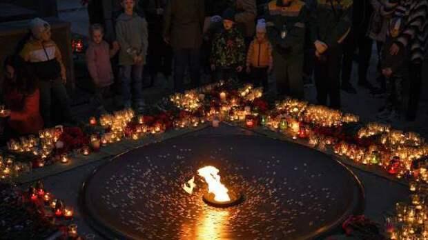 Жители Раменского отдали дань памяти героям-десантникам